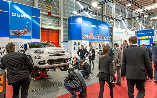 Auto-Salon Genf – Messestand 2015